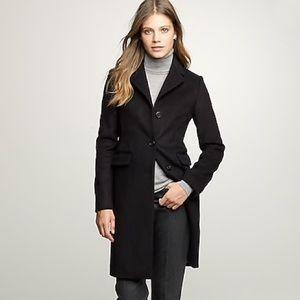JCREW Petite Wool / Cashmere Plaza Coat.